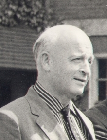 Cecil Jackson-Cole at the Oxfam Summer Conference, 1962. Oxfam Archive, Bodleian Libraries