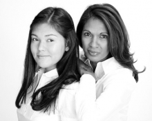Gina Miller and her daughter, who has been an