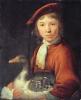 Boy with a Goose (oil on panel) by Cuyp, Jacob Gerritsz (1594-1651). © Kadriorg